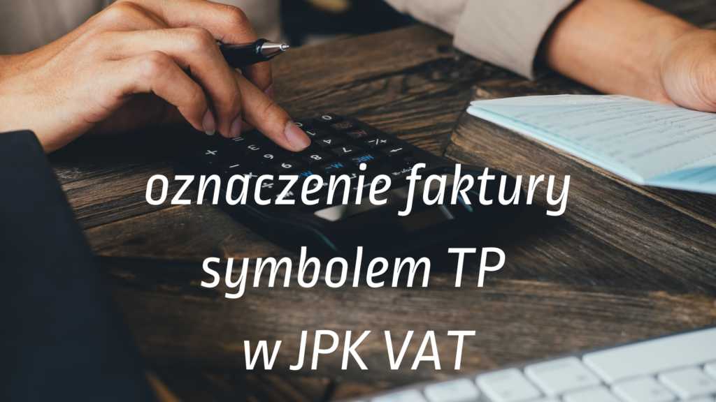 TP w JPK VAT